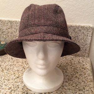 Prada Vintage Wool Trilby Bucket Hat